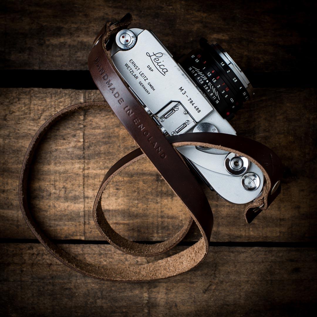 Brown-Kensington-Strap-Leica-M3