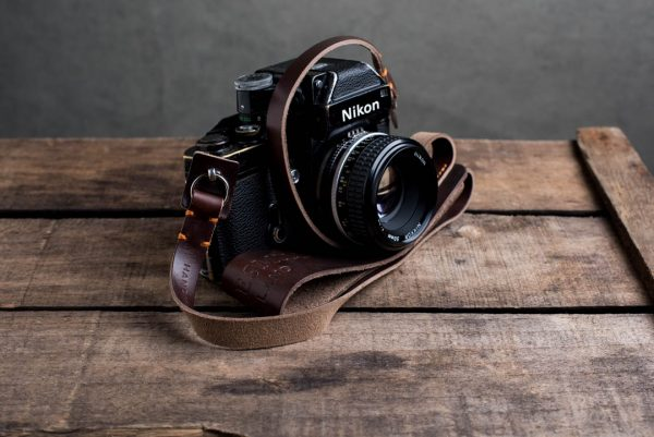 Hawkesmill-Westminster-Brown-Leather-Camera-Strap-Nikon-F-1