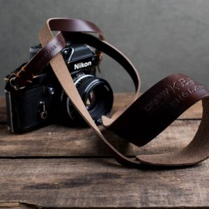 Hawkesmill-Westminster-Brown-Leather-Camera-Strap-Nikon-F-2