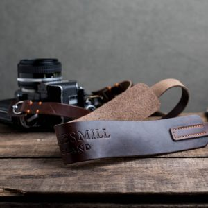 Hawkesmill-Westminster-Brown-Leather-Camera-Strap-Nikon-F-3