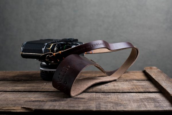 Hawkesmill-Westminster-Brown-Leather-Camera-Strap-Nikon-F-5