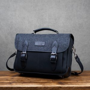 Hawkesmill Sloane Street Camera Messenger Backpack Front