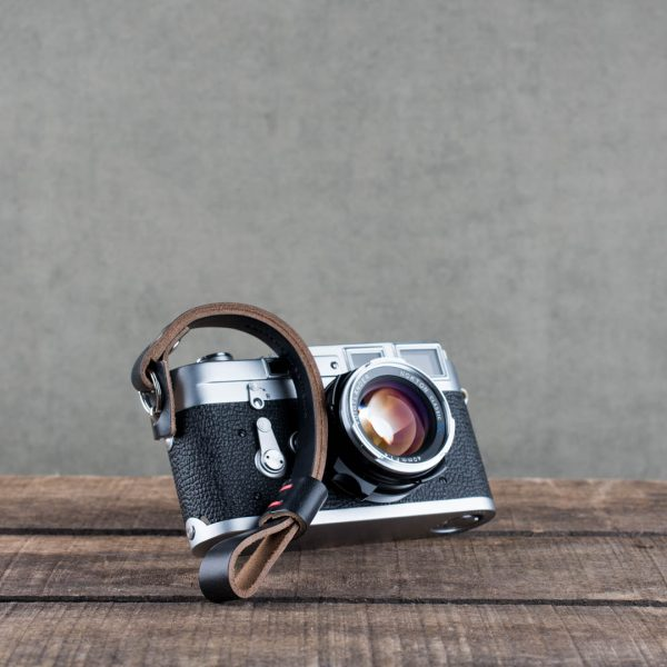 Hawkesmill-Black-Oxford-Leather-Camera-Wrist-Strap-For-Nikon-Leica-Sony-Fujifilm