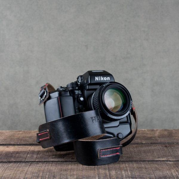Hawkesmill-Black-Westminster-Leather-Camera-Strap-For-Nikon-Leica-Sony-Fujifilm