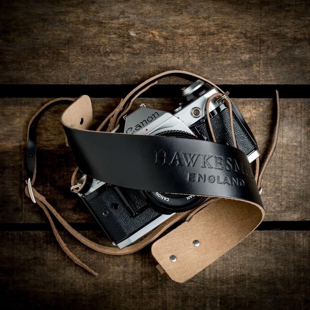 Hawkesmill-Borough-Camera-Neck-Strap-Canon-Black
