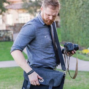 Hawkesmill-Borough-Camera-Neck-Strap-Canon-Brown-Wedding-Photographer