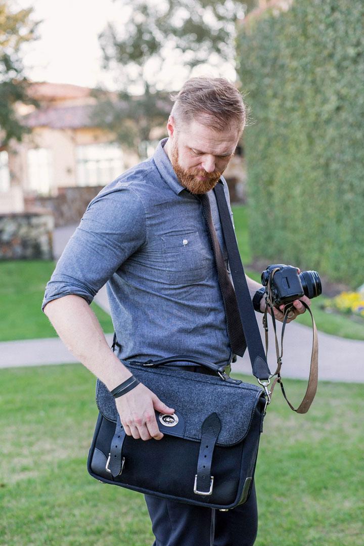 Hawkesmill-Borough-Camera-Neck-Strap-Canon-Brown-Wedding-Photographer