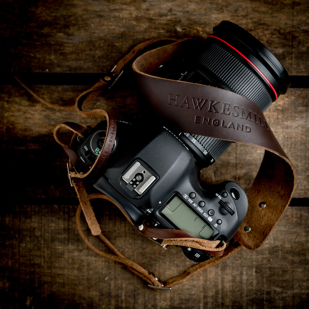 Hawkesmill-Borough-Camera-Neck-Strap-Canon-Brown