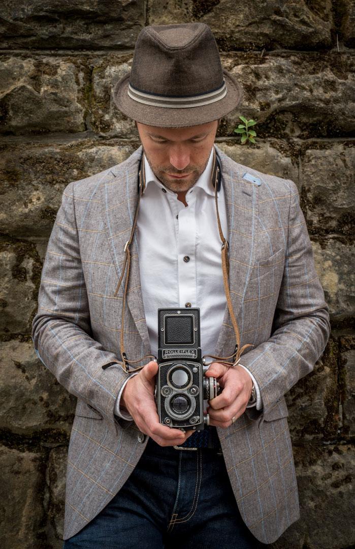 Hawkesmill-Borough-Camera-Neck-Strap-Vintage-Rolleiflex
