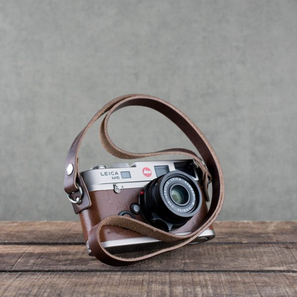 Hawkesmill-Brown-Kensington-Leather-Camera-Strap-For-Nikon-Leica-Sony-Fujifilm