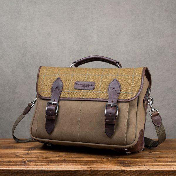 Hawkesmill-Jermyn-Street-Camera-Messenger-Backpack-Front