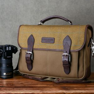 Hawkesmill-Jermyn-Street-Camera-Messenger-Backpack-Front-Nikon-F4