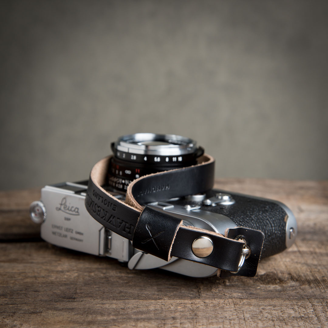 Hawkesmill-Leather-Camera-Wrist-Strap-Leica-Black2