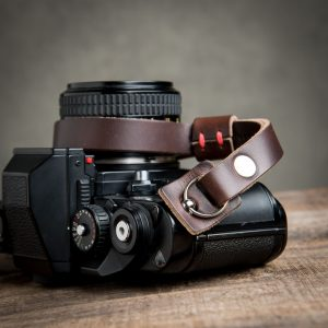 Hawkesmill-Leather-Camera-Wrist-Strap-Nikon-Brown