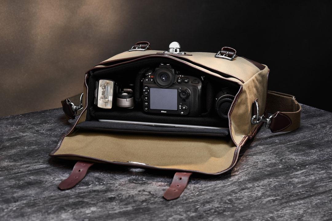 Hawkesmill-Marlborough-Camera-Bag-Rear-Interior
