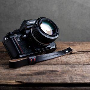Hawkesmill-Oxford-Black-Leather-Camera-Strap-Nikon-F3-2