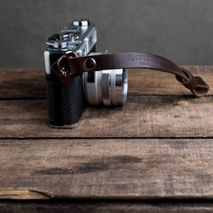 Hawkesmill-Oxford-Brown-Leather-Camera-Strap-Nikon-Yashica-Electro-3