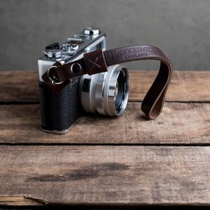 Hawkesmill-Oxford-Brown-Leather-Camera-Strap-Nikon-Yashica-Electro-4