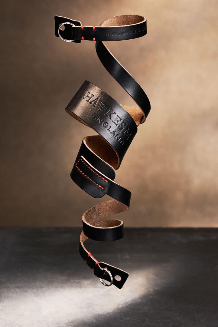 Hawkesmill-Westminster-Camera-Neck-Strap-Black-Suspended