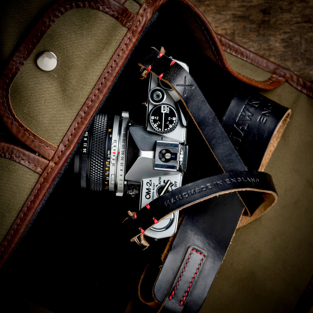 Hawkesmill-Westminster-Camera-Strap-Vintage-Canon-Camera