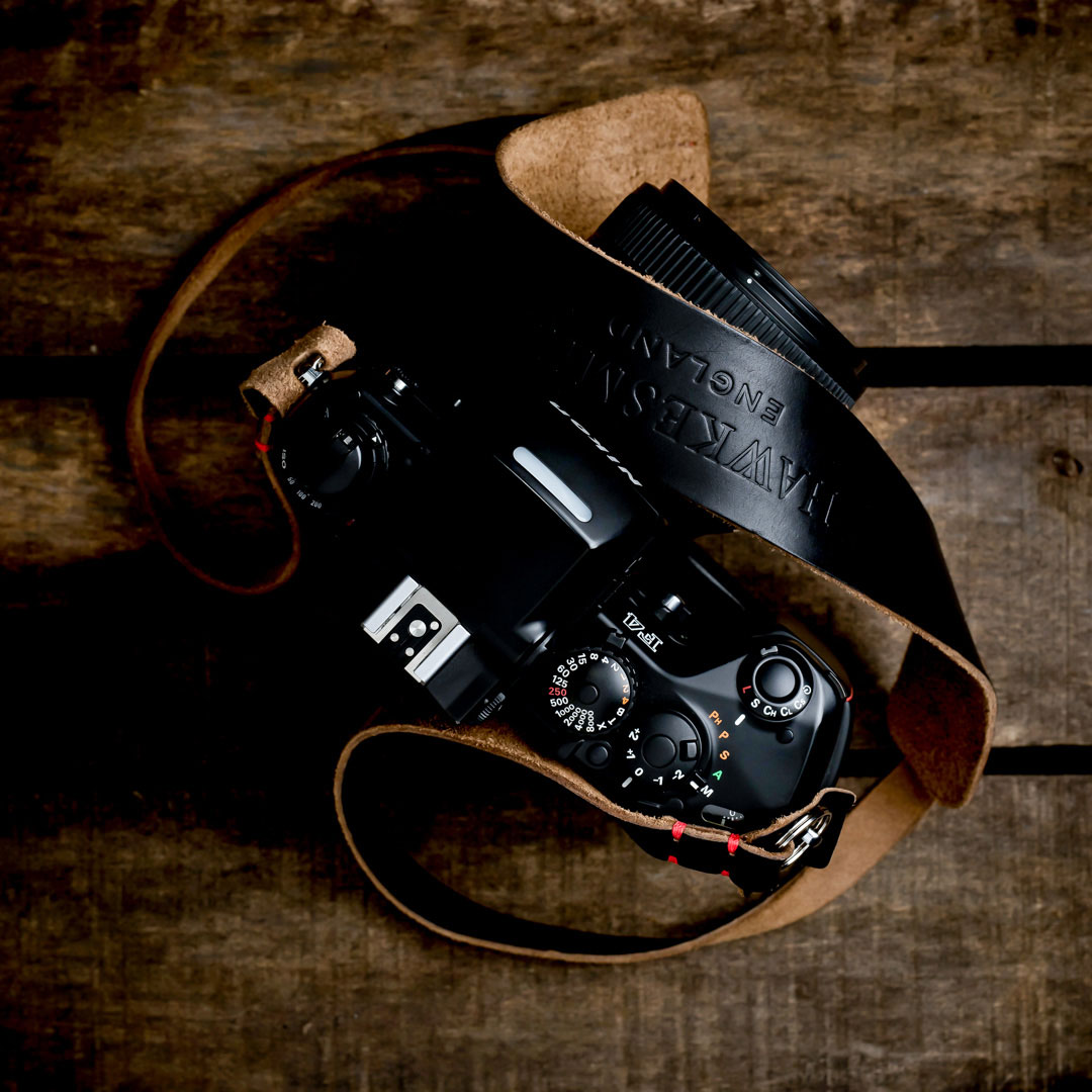 Hawkesmill-Westminster-Camera-Strap-Vintage-Nikon-Camera