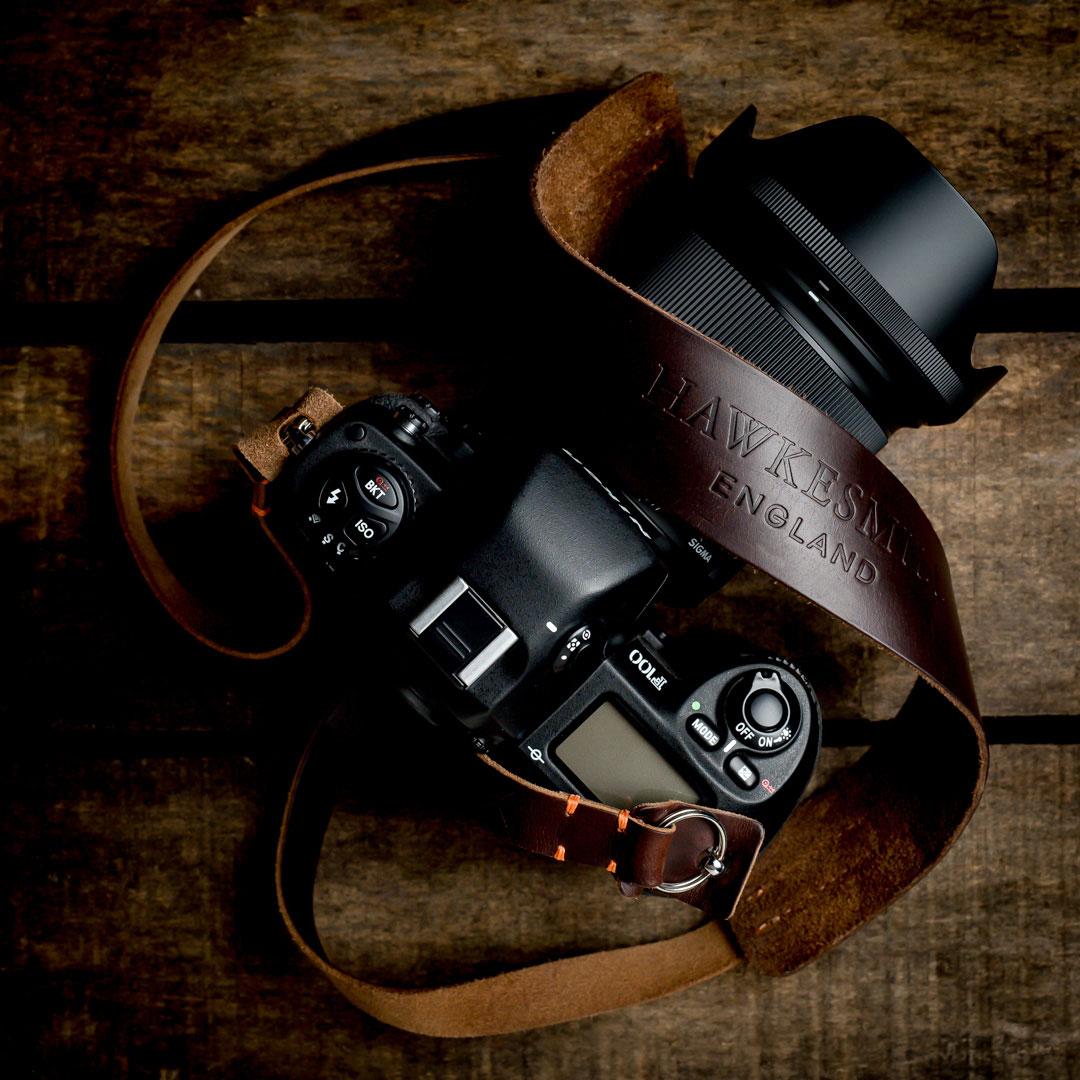 Hawkesmill-Westminster-Camera-Strap-Vintage-Nikon-Camera2