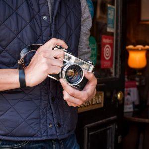 Leather-Camera-Wrist-Strap-Hawkesmill-Griffin