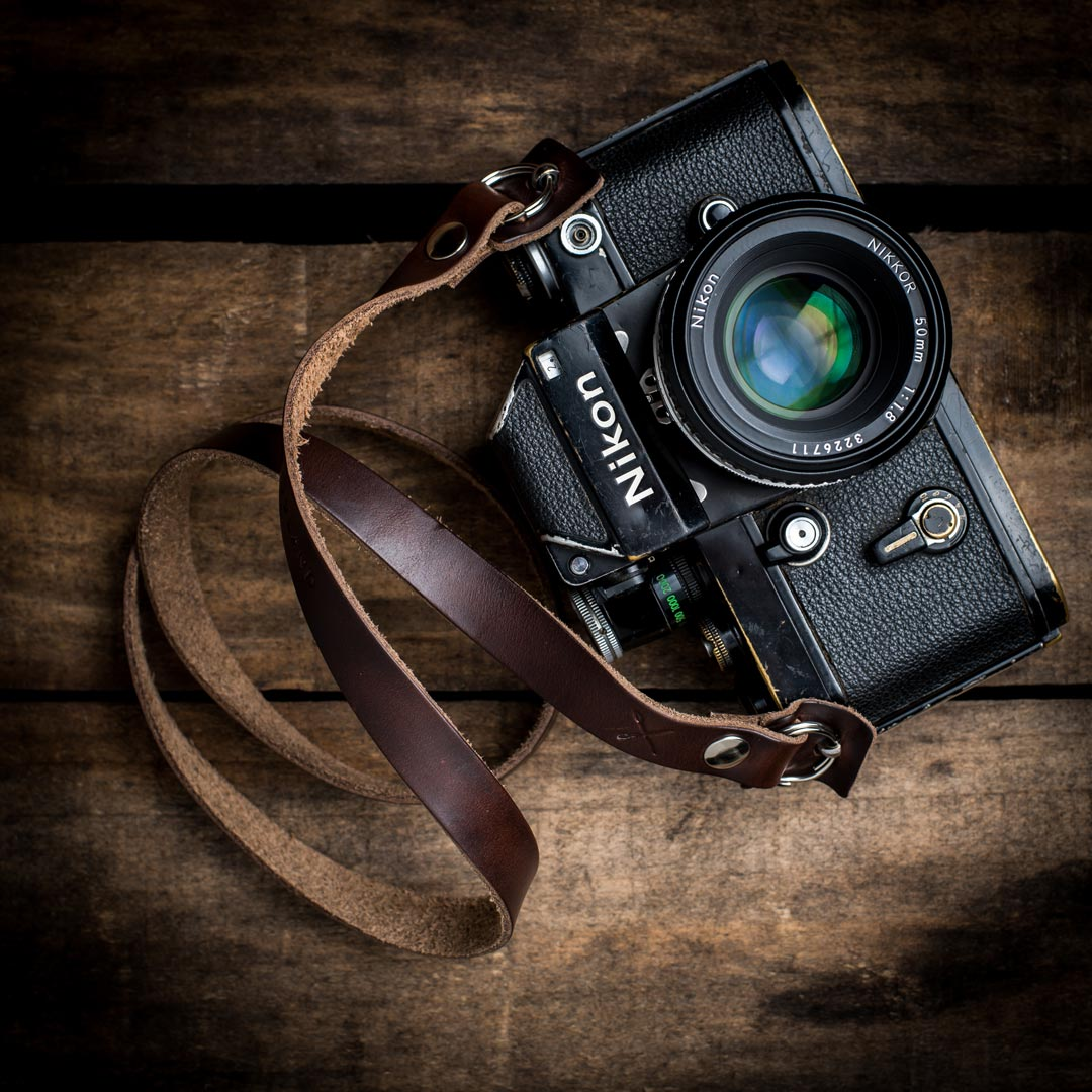 Nikon-F2-with-Kensington-Horween-Camera-Neck-Strap