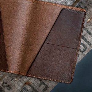 Italian leather passport holder 2