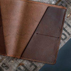 Italian leather passport holder 2