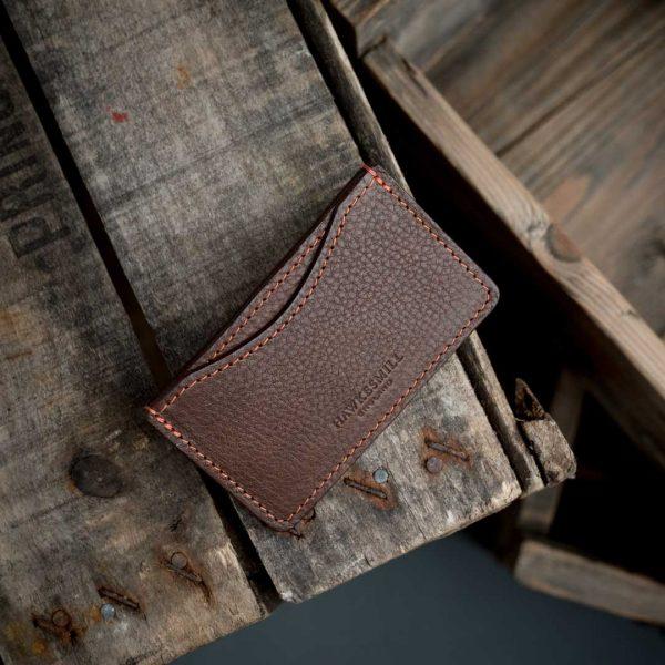 Hawkesmill Italian leather credit card holder
