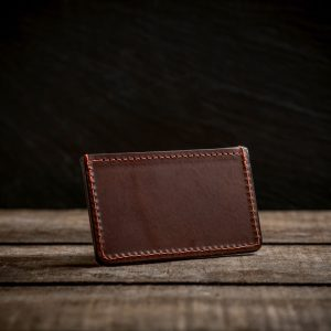 Hawkesmill Italian leather credit card holder