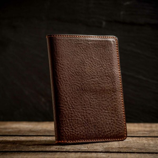 Italian leather passport holder 3
