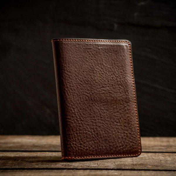 Italian leather passport holder 3