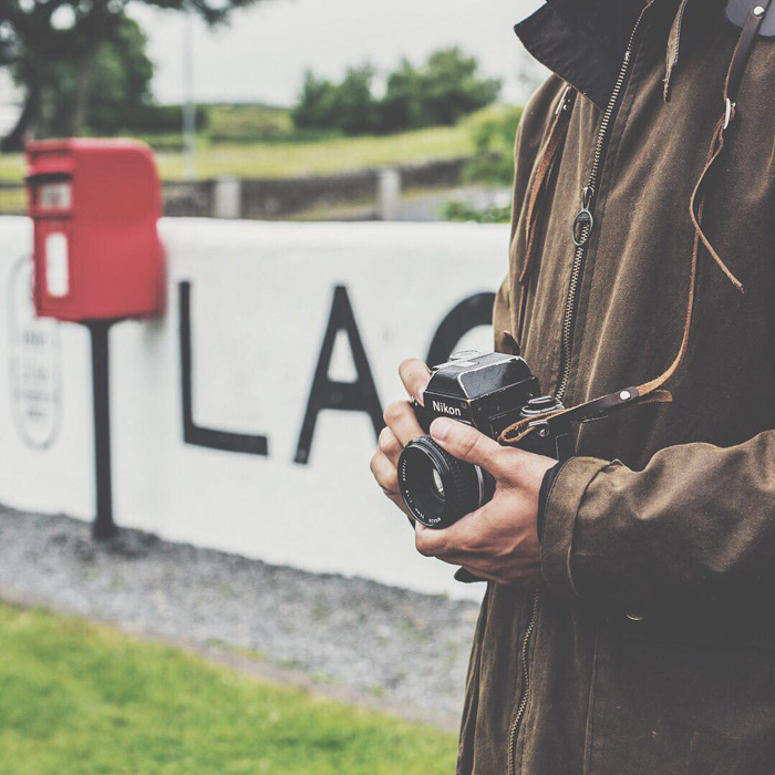 Laphroaig-Islay-Scotland-Hawkesmill-Borough-Leather-Camera-Neckp-Strap