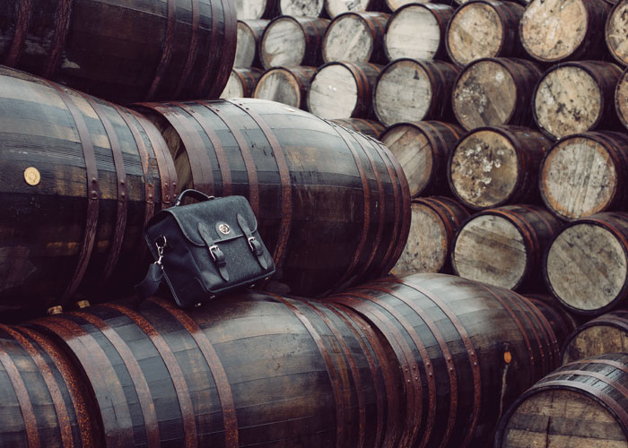Hawkesmill-Bond-Street-Camera-Messenger-Bag-Bunnahabhain-Whiskey