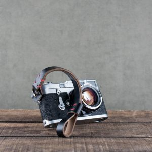 Hawkesmill-Black-Oxford-Stiched-Leather-Camera-Wrist-Strap-For-Nikon-Leica-Sony-Fujifilm