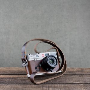Hawkesmill-Brown-Kensington-Stitched-Leather-Camera-Strap-For-Nikon-Leica-Sony-Fujifilm