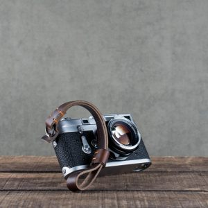 Hawkesmill-Brown-Oxford-Stiched-Leather-Camera-Wrist-Strap-For-Nikon-Leica-Sony-Fujifilm