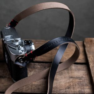 Hawkesmill-Kensington-Leather-Camera-Strap-Black-Stitched-Leica-M3-2