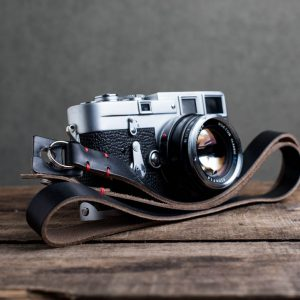 Hawkesmill-Kensington-Leather-Camera-Strap-Black-Stitched-Leica-M3-6