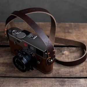 Hawkesmill-Kensington-Leather-Camera-Strap-Brown-Stitched-Leica-M6-3
