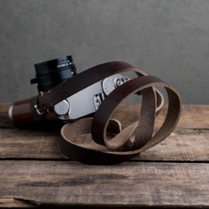 Hawkesmill-Kensington-Leather-Camera-Strap-Brown-Stitched-Leica-M6-4