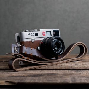 Hawkesmill-Kensington-Leather-Camera-Strap-Brown-Stitched-Leica-M6-6