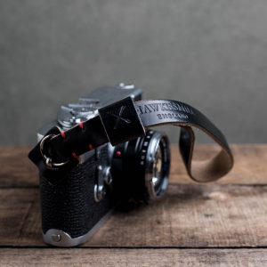 Hawkesmill-Oxford-Leather-Camera-Wrist-Strap-Black-Stitched-Leica-M3-1