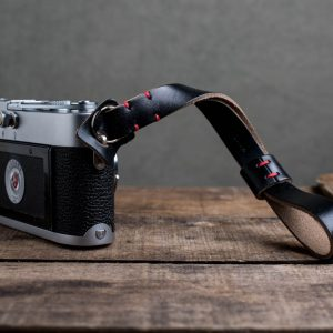 Hawkesmill-Oxford-Leather-Camera-Wrist-Strap-Black-Stitched-Leica-M3-3