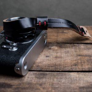 Hawkesmill-Oxford-Leather-Camera-Wrist-Strap-Black-Stitched-Leica-M3-4