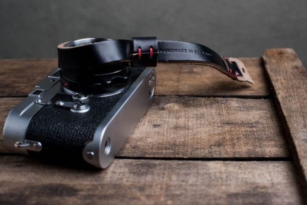Hawkesmill-Oxford-Leather-Camera-Wrist-Strap-Black-Stitched-Leica-M3-4
