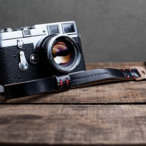 Hawkesmill-Oxford-Leather-Camera-Wrist-Strap-Black-Stitched-Leica-M3-5