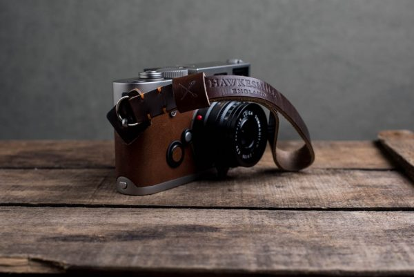 Hawkesmill-Oxford-Leather-Camera-Wrist-Strap-Brown-Stitched-Leica-M6-2